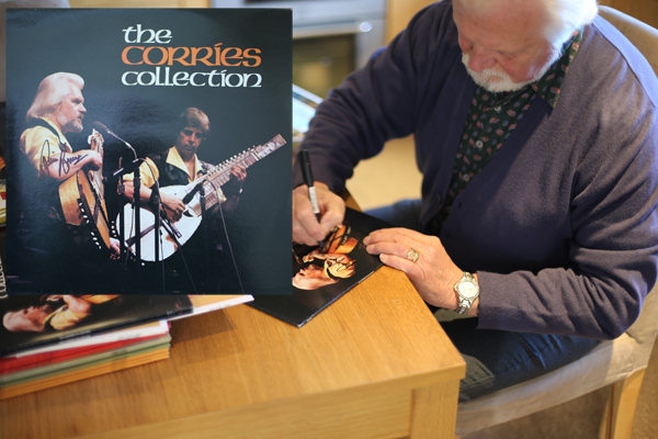 The Corries Collection LP hand signed